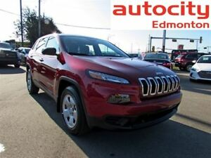 2017 Jeep Cherokee Sport 4x4 Automatic Bluetooth Heated Seats