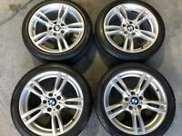 Bmw 1-3-4 series m sport 18 inch alloy wheels