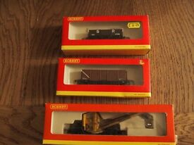 Hornby 00 Gauge Wagons Mint boxed