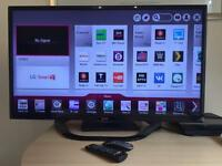 "LG LED 1080p Smart TV 39"" WIFI with extended warranty"