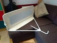 Tomy fold down bed rail (beige)