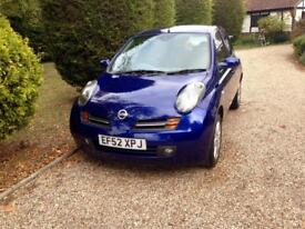 Nissan micra only 75000 miles fsh