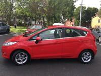 Ford Fiesta Zetec 2012 RED