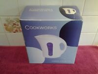 Cookworks Corded Kettle-New-Still In Original Box- 1.7 Litre Capacity-Proceeds To Charity Group