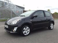 2007(Nov 57) RENAULT TWINGO 1.2 16V DYNAMIQUE - 3 Dr Hatch - Petrol - Manual - BLACK *12 MONTHS MOT*