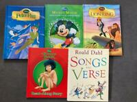 Hard back children's books
