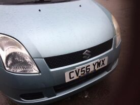 suzuki swift 56 plate drives lovely .NO MOT