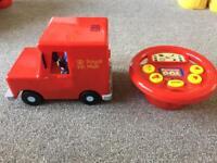 Postman pat drive and steer van (remote control)