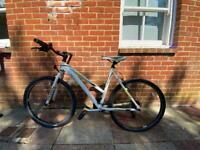 Ladies hybrid Raleigh bicycle