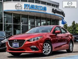 2015 Mazda Mazda3 GS-Heated Seats, Back Up Camera, Bluetooth, 3M