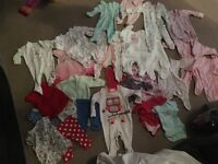 Baby girl clothes bundle newborn and 0-3months
