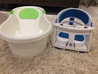 Baby bath & safety seat
