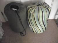 2 x Double Size Sleeping Bags