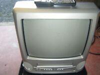 14inch bush tv/video combi