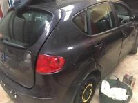 Seat altea 1.9 tdi 105 bhp breaking for parts 2005-2012 model