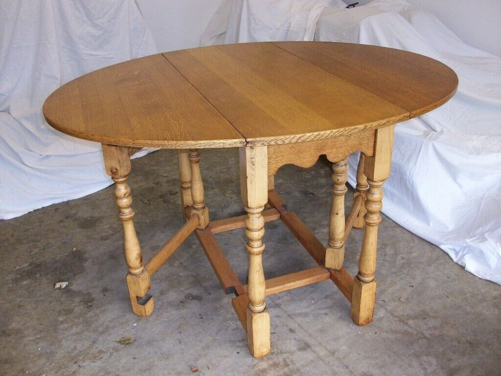 Superb Antique Oval Drop Leaf Wooden Dining Table In Lincoln Lincolnshire Gumtree Home Interior And Landscaping Oversignezvosmurscom