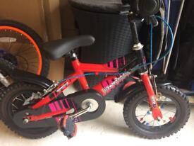 "Childs Diamonback 12"" bike"
