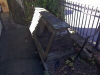 Chicken or rabbit hutch well made by local poultry business