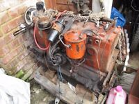 Flat Head Straight 6 Engine & Gear Box Plymouth & Dodge