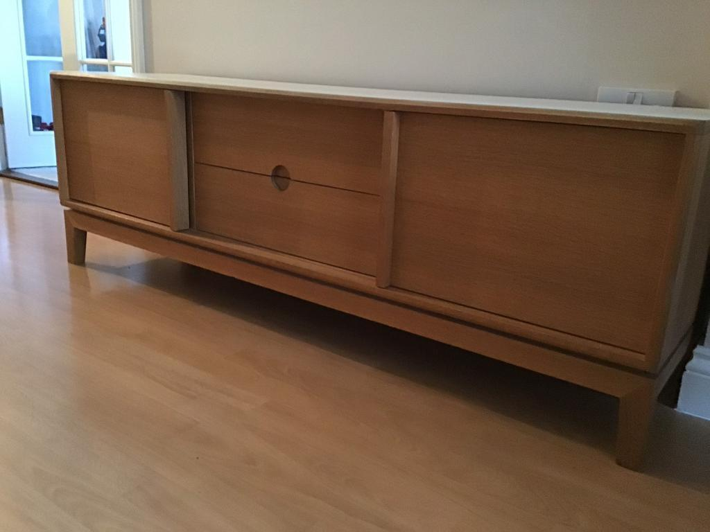 Oak Sideboard Tv Unit Furniture In Chandlers Ford
