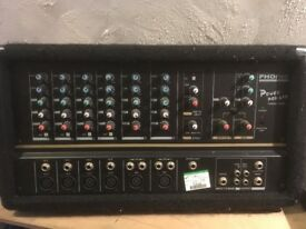 Phonic Mixer Amp ideal for soloist or small band