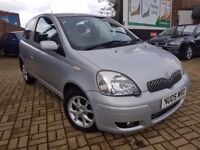 Toyota Yaris 1.3 VVT-i Colour Collection 3dr , 1 Former Keeper, 3 MONTHS WARRANTY
