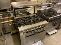 GAS FALCON COOKER OVEN UNDER CATERING COMMERCIAL KITCHEN FAST FOOD SHOP