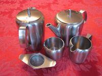 Stainless Steel Tea Set
