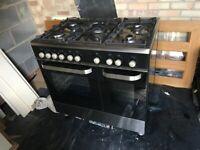 Kenwood double oven range gas cooker