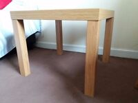 Small Ikea wooden table