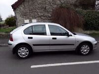 Rover 25 1 owner vehicle