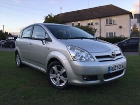 Toyota Corolla Verso D4-D T3 2.2 Diesel 2007 7 Seater 6 Speed Manual