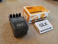 GLX HM-100 Heavy Metal Guitar Effects Pedal (excellent condition)