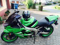 Kawasaki Ninja ZX6R ***GREEN*** - amazing bike!
