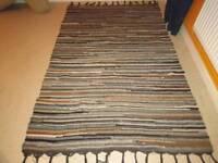 Large cotton rug