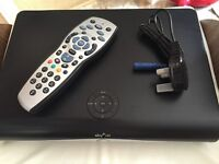 Sky HD Box with new remote and lead