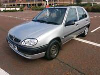 2000 CITREON SAXO 1.5 DIESEL EXCELLENT RUNNER DRIVER, ONE OWNER FROM NEW, SERVICE