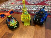 3x Paw Patrol Toys