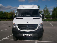 MERCEDES BENZ SPRINTER VAN OVERNIGHT FREEZER VAN diesel with Towbar