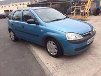 Vauxhall Corsa 1.2 Petrol, long MOT, very economic car.