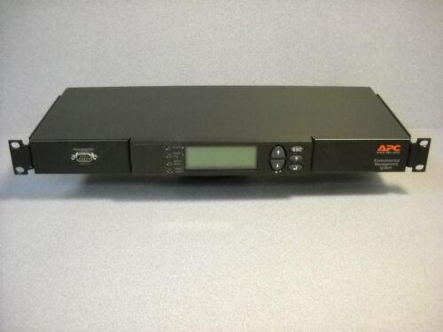 APC AP9320 ENVIRONMENTAL MANAGEMENT SYSTEM NO D.O.A!!!