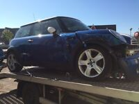 Salvage Breaking R50 Mini One Cooper 5 Speed Getrag Gearbox Spares Parts - Wheel Nut