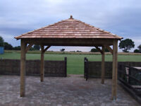 Gazebo ENGLISH OAK Framed Gazebo 4m x 4m