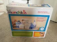 Munchkin nappy organised