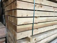Pack of 50 wooden railway sleepers Pressure Treated