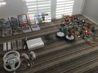 Nintendo Wii Console plus games & accessories
