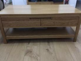 Hard Work Sturdy Coffee Table with draws