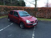 2003 Renault Clio 1.2 mint wee car low miles not Corsa ford honda seat
