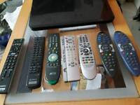 TV remotes £8 each