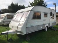 Caravan 4/5/6 berth Sterling Europa 500 1996 lovely condition awning available